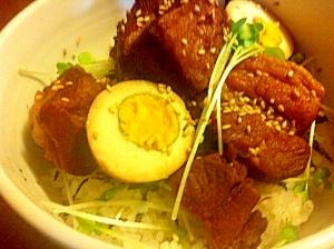 ガッツリ!豚の角煮丼