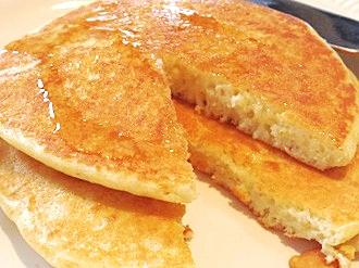 おとなの、ブルーチーズスフレパンケーキ