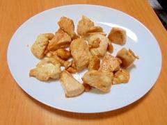 鳥胸肉の醤油マヨガーリックソテー