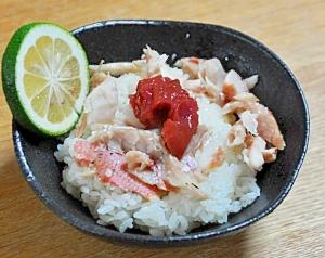 金目鯛の混ぜご飯