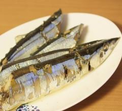 旬の秋刀魚で作る  サンマ・コンフィ