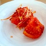 夏にピッタリトマトのキムチ