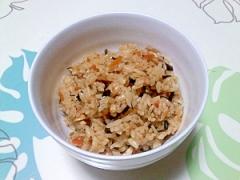 ひじき煮リメイク!炊き込みご飯++
