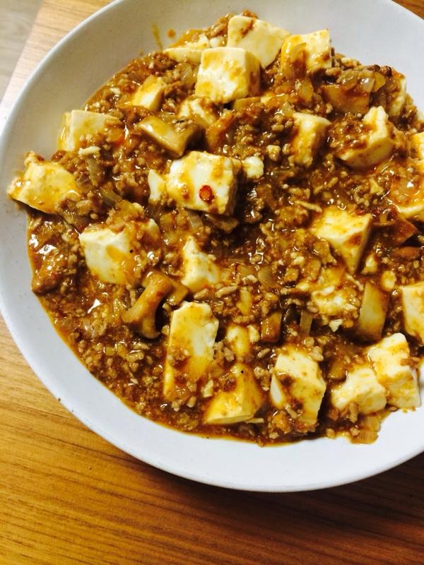 エリンギの食感が楽しい☆麻婆豆腐