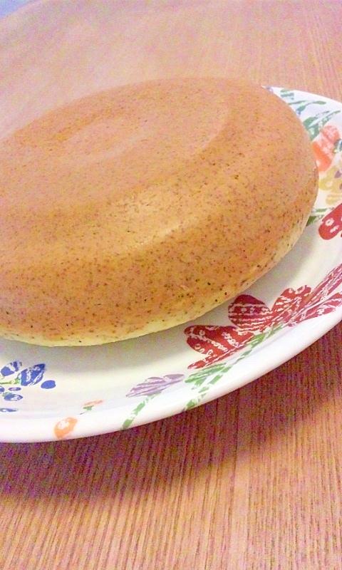 ホットケーキミックスで紅茶のケーキ