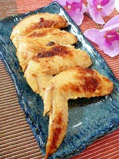 塩麹で☆鶏手羽先の漬け焼き