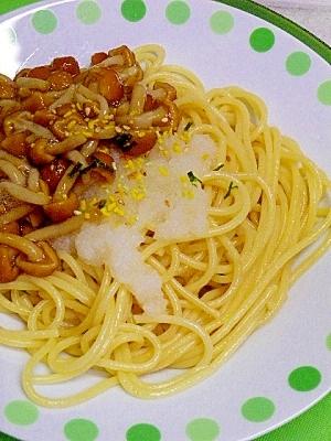 なめこおろしスパゲティ なめこおろしスパゲティ レシピ・作り方 by Laguna Maravi
