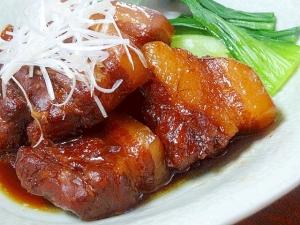 とろける食感♪ 梅風味「豚バラ角煮」 とろける食感♪ 梅風味「豚バラ角煮」 レシピ・作り方 by
