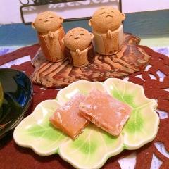 ほんのり甘みが上品な、柚子くるみ餅(ゆべし)