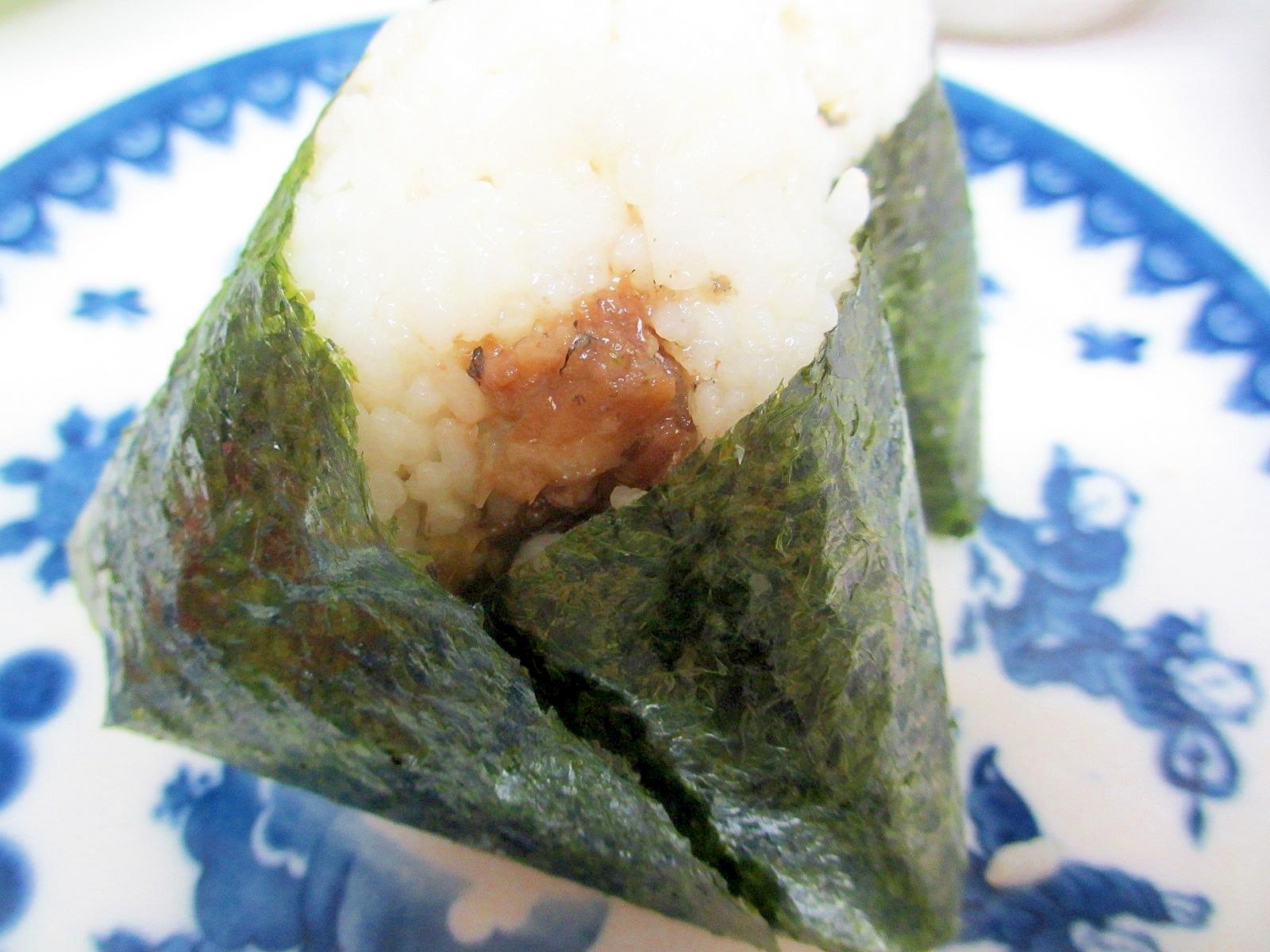 北海道サンマの昆布煮おにぎり