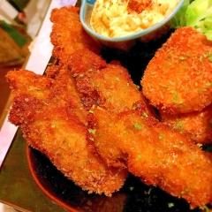 ほんのりイタリアンテイストの牡蠣フライ