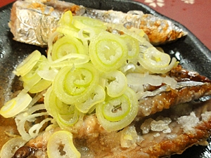 カツオハラスの塩焼き
