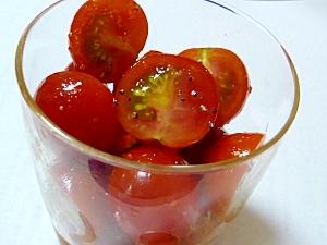 プチトマトのマリネ♬ にんにくと。 レシピ・作り方 by みみこちやん|楽天レシピ