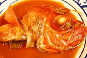 別格の美味しさ、金目鯛の煮付け
