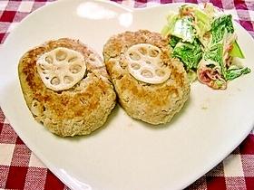 ダイエット根菜満載おからハンバーグ