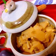 混ぜご飯、おつまみに!ピリリ筍と山椒の塩麹佃煮
