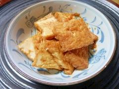 厚揚げの生姜焼き