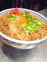 ☆とろ~リオクラ牛丼☆