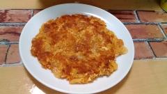 パリふわっ! ★豚キムチーズの豆腐チヂミ★
