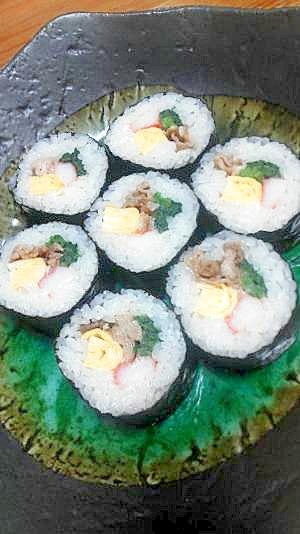 運動会のお弁当はこれに決まり!美味☆肉巻き寿司♪