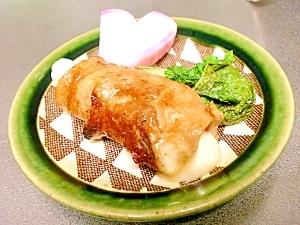 舞茸とチェダーチーズの豚ロース巻き