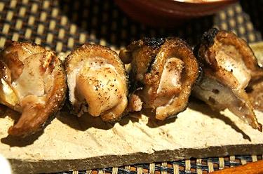 これぞ究極の秋、秋刀魚の秋鮭白子包み焼き