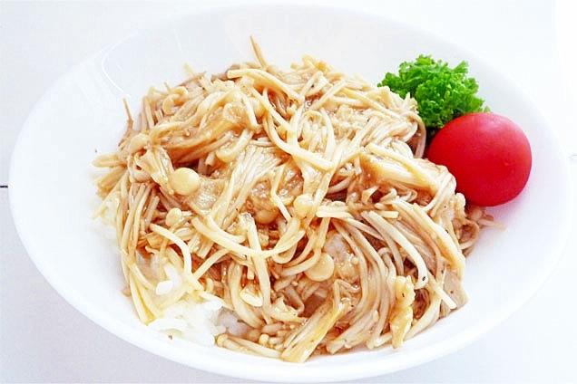 エノキ茸をメインに! 美容とスタミナの簡単エノキ丼