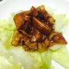 干瓢と豚肉の焼肉炒め