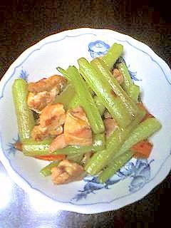 フキの炒め煮(ふきの煮物)