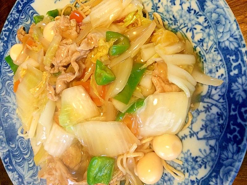ちゃんぽん麺で☆あんかけ焼きそば レシピ・作り方 by きのこのみみ|楽天レシピ