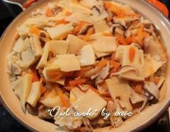 筍の炊きこみご飯