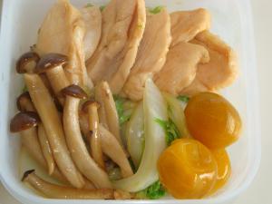 鶏胸肉のソテー★キンカン風味