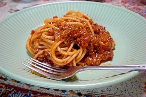 ♪家庭で簡単に作れる本格ミートスパゲッティ♪
