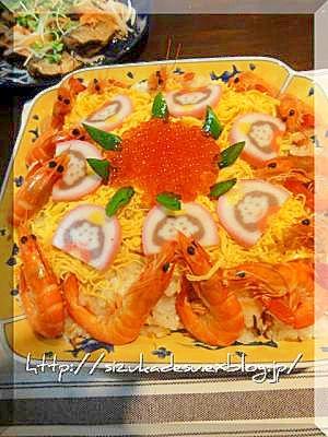 雛祭りのちらし寿司