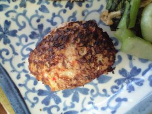 野菜ハンバーグ 減塩食