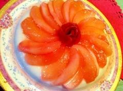 大人のりんごブラマンジェ