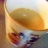 柚子ピールが美味しい♪カフェオレ