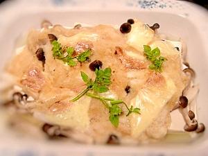 発酵食品を使って☆豆腐の長芋味噌グラタン
