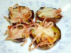 フライパン1つで簡単☆茄子とベーコンのチーズ焼き