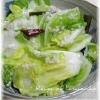 塩麹で白菜の浅漬け