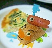 こどもの日☆いなり寿司deアンパンマン号