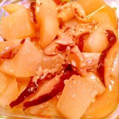 鶏肉と大根のモルトビネガー塩麹煮
