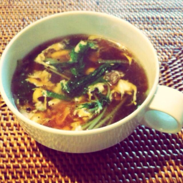 P's亭*圧力鍋で茹で豚&スープ