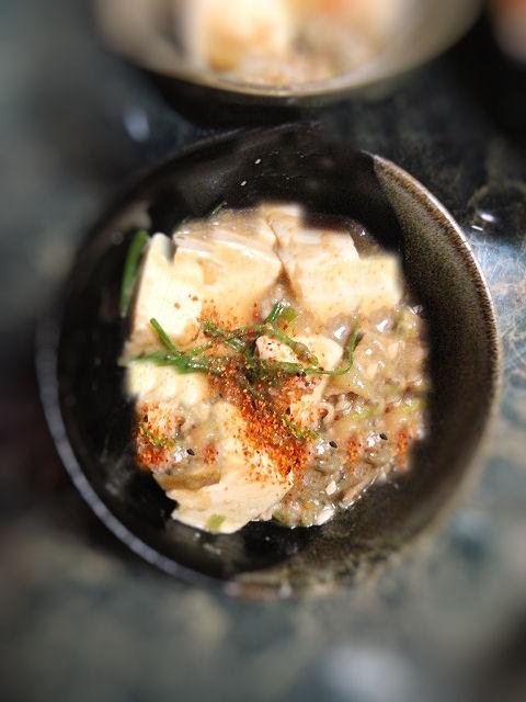山椒が決めて★豚こまと豆腐のマーボー豆腐