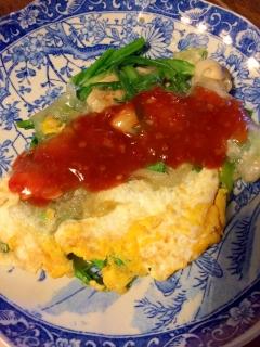 台湾の味☆牡蠣のお好み焼き