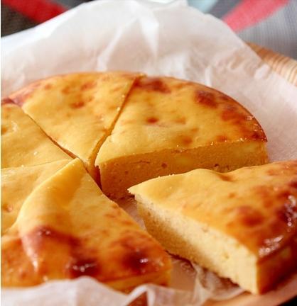 ノンフライヤーで18分♪酒粕ベイクドチーズケーキ