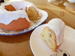エンゼルバナナケーキ