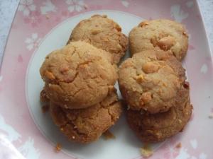 節分豆入りクッキー