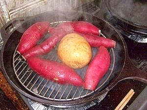 【ダッチオーブンLOVE】しっとり蒸かし芋
