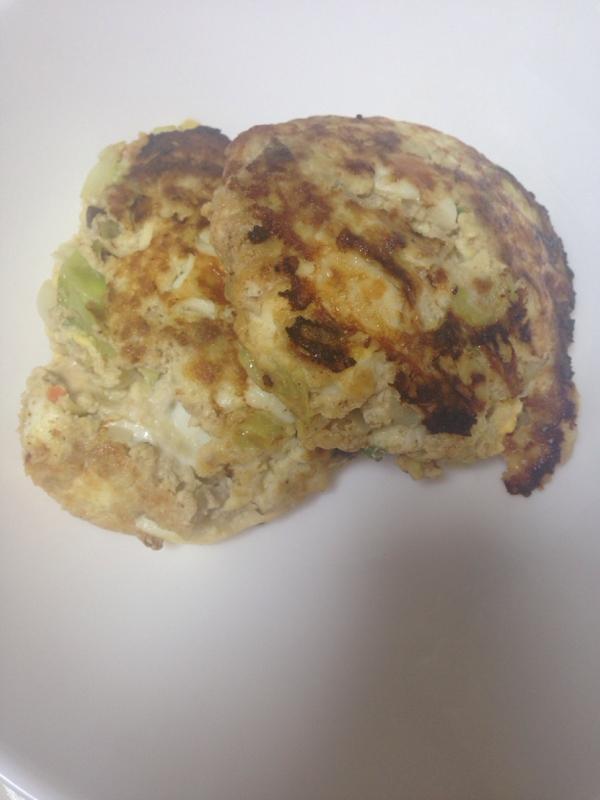 ヘルシー豆腐野菜ハンバーグ(*^^*)☆